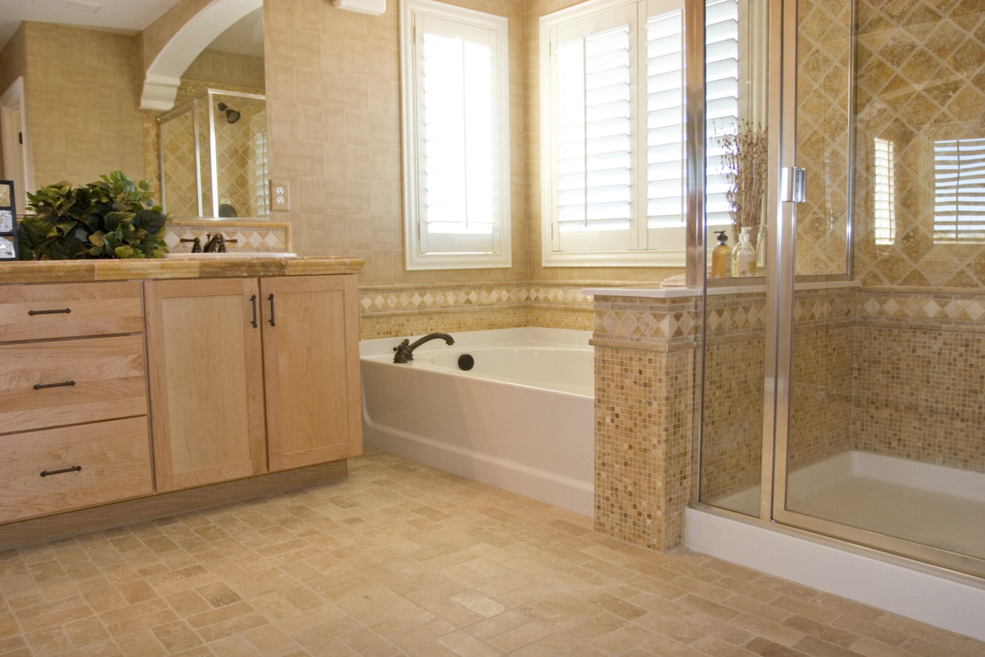 pretty new bathroom maryville il