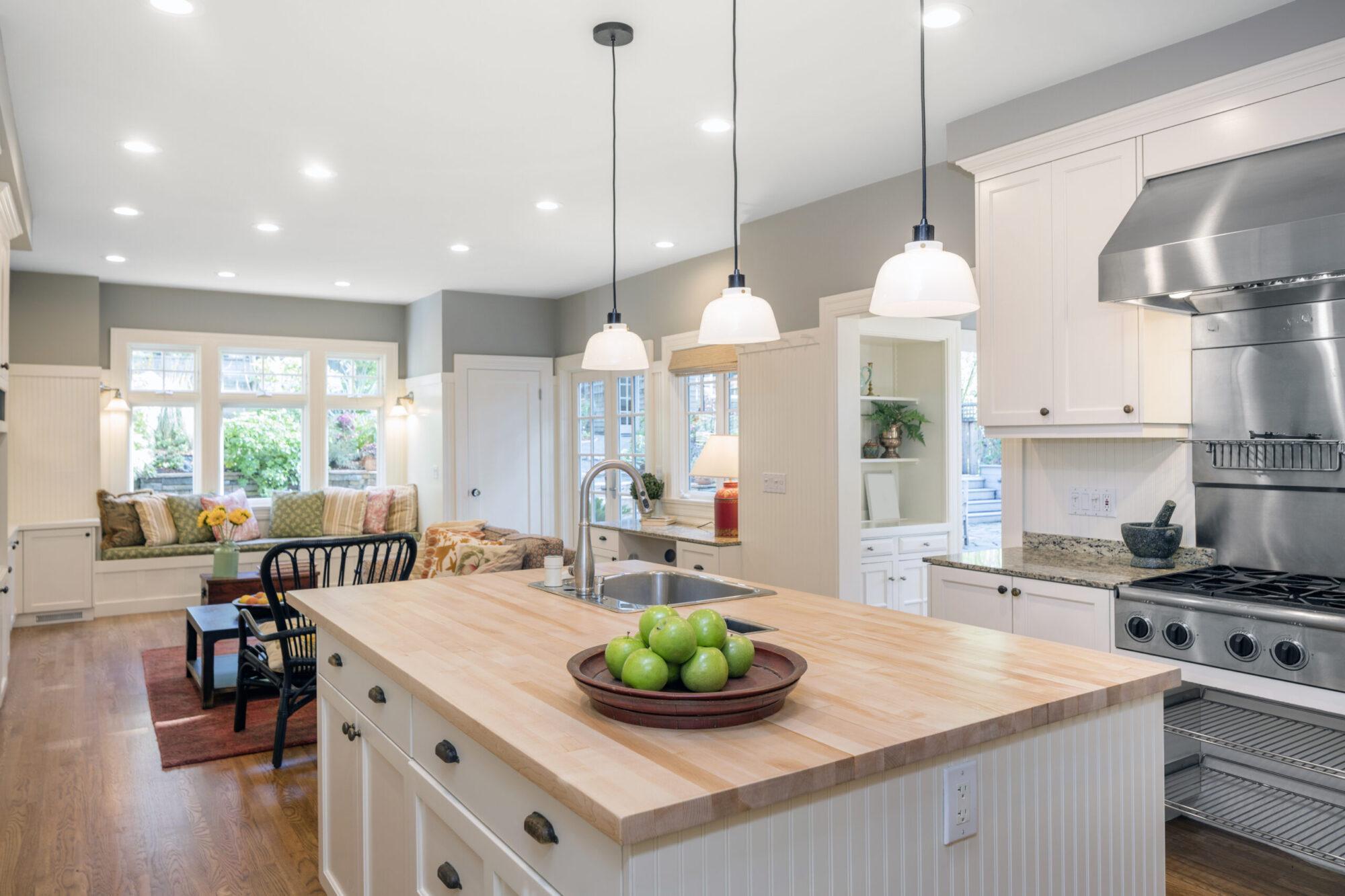 kitchen island installation troy il